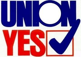 Union Yes check mark